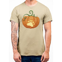 Bear Paw Pumpkin T-Shirt - Bearified Gear