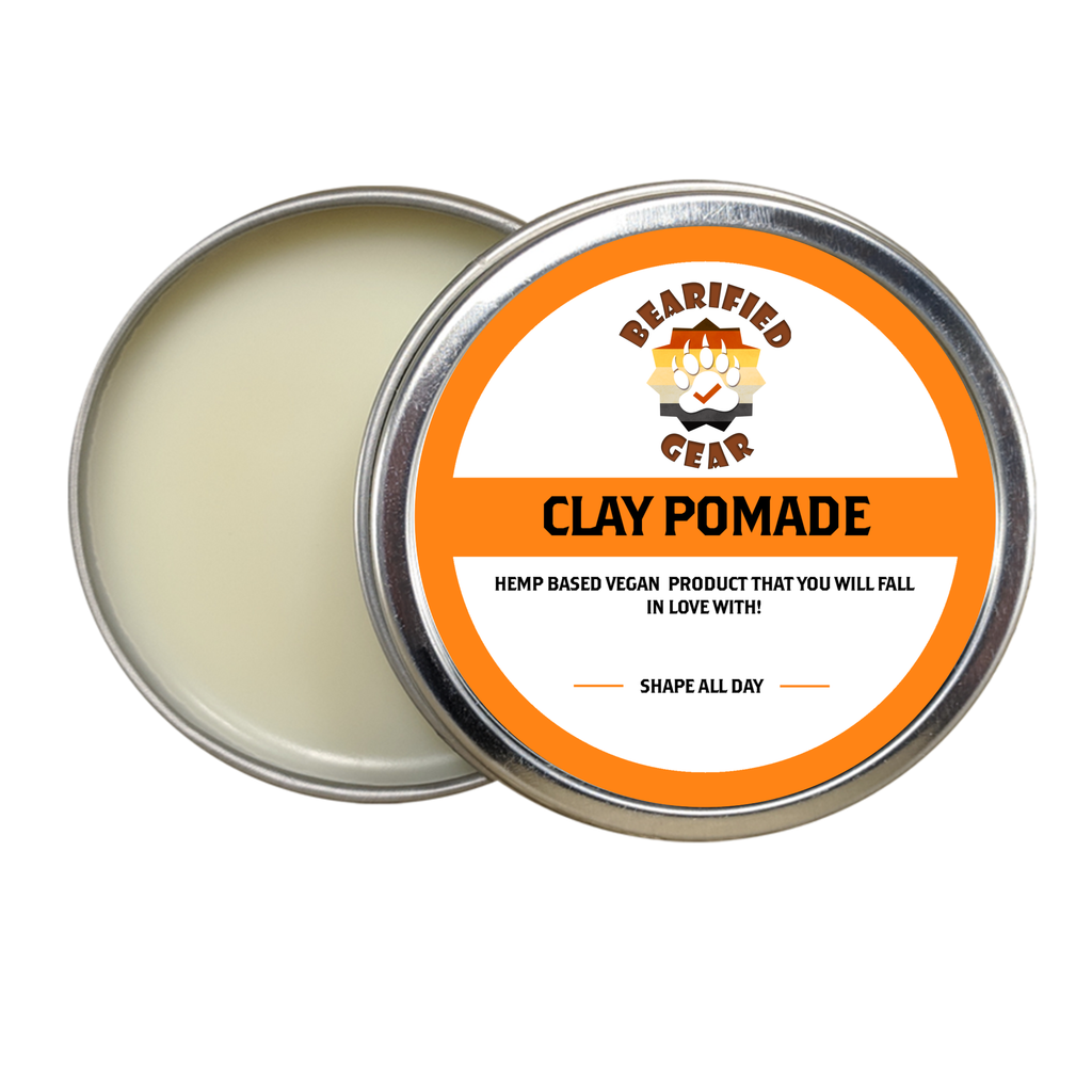 Clay Pomade - FREE Shipping - Bearified Gear