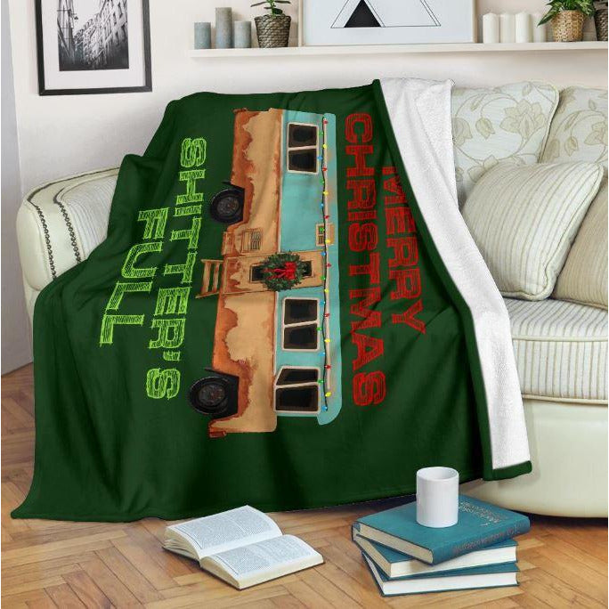 National Lampoons Christmas Throw Blanket - Bearified Gear