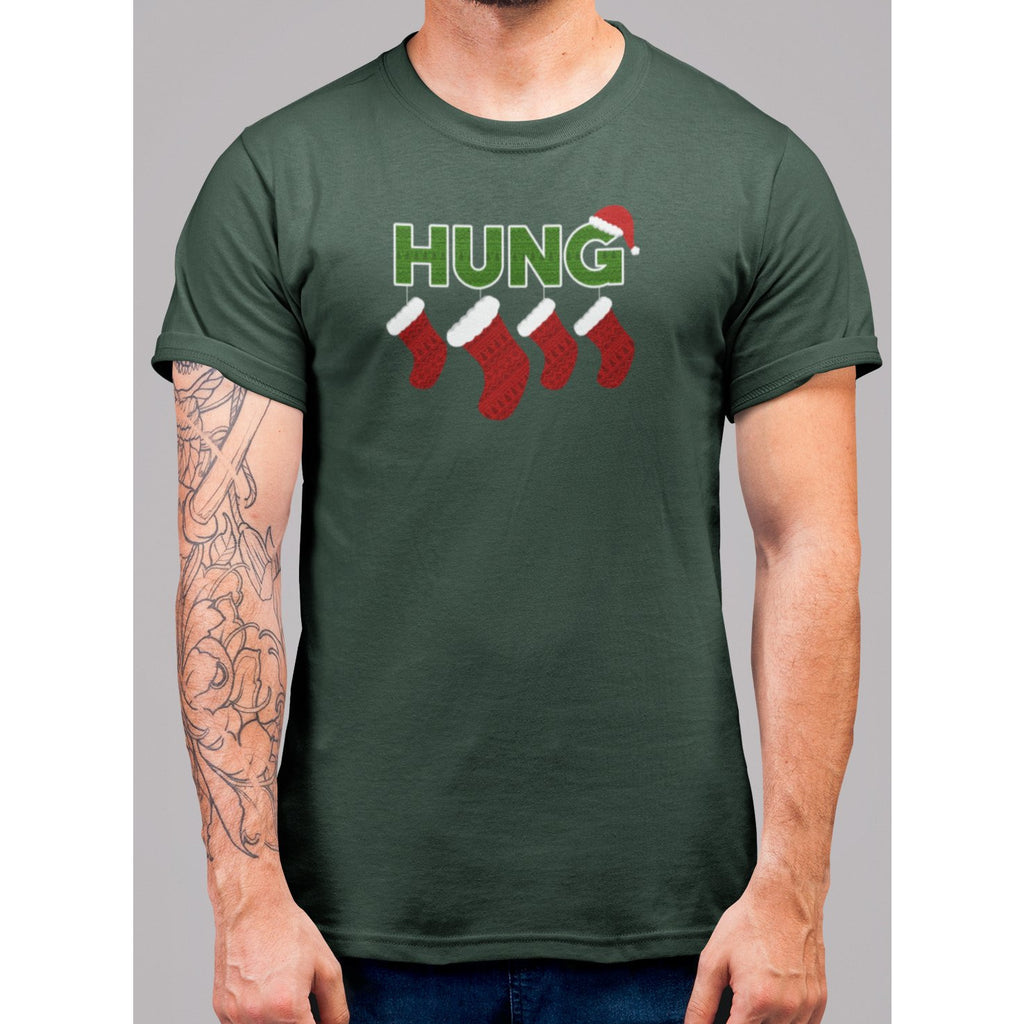 Well Hung Christmas T-Shirt - Bearified Gear