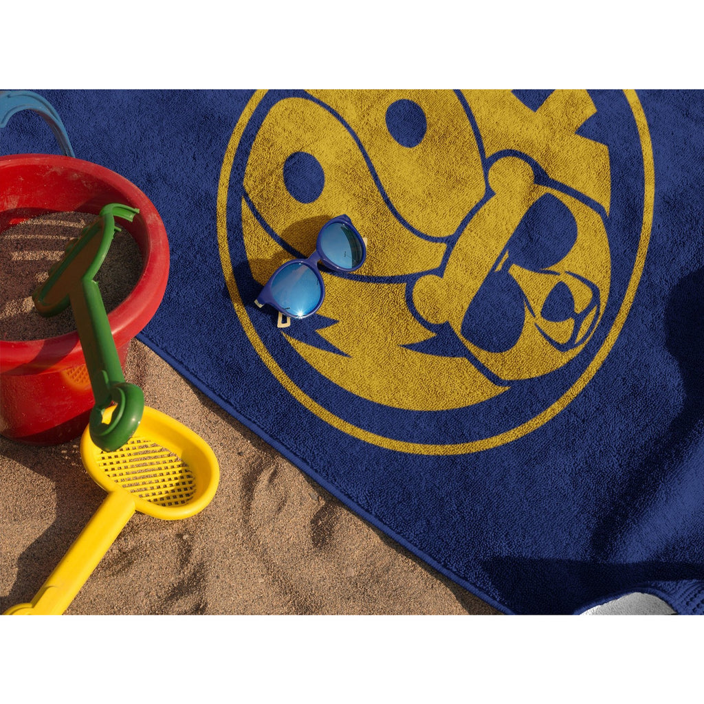 Woof Badge Beach Towel - FREE Shipping - Bearified Gear