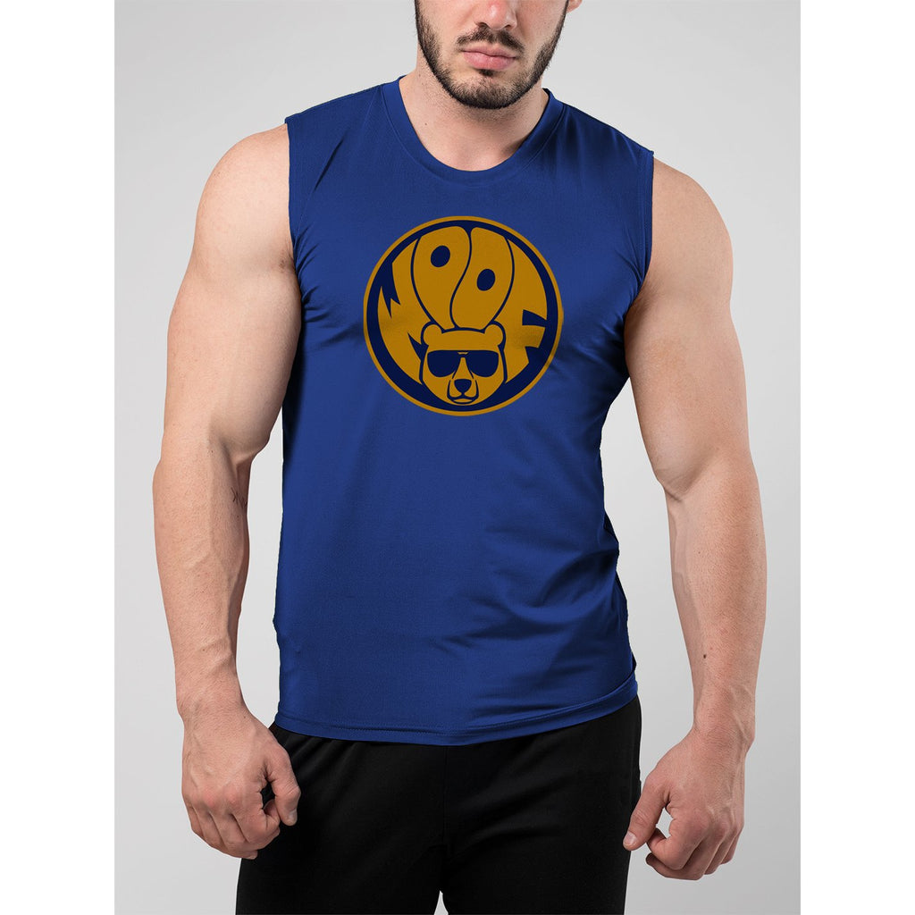 Woof Badge Muscle Tank Top - Bearified Gear