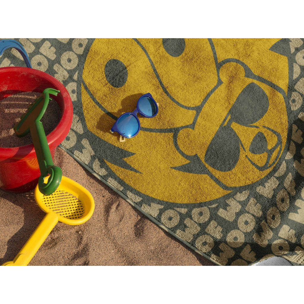 WOOF Beach Towel - FREE Shipping - Bearified Gear