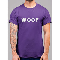 Woof Wording T-Shirt - Bearified Gear