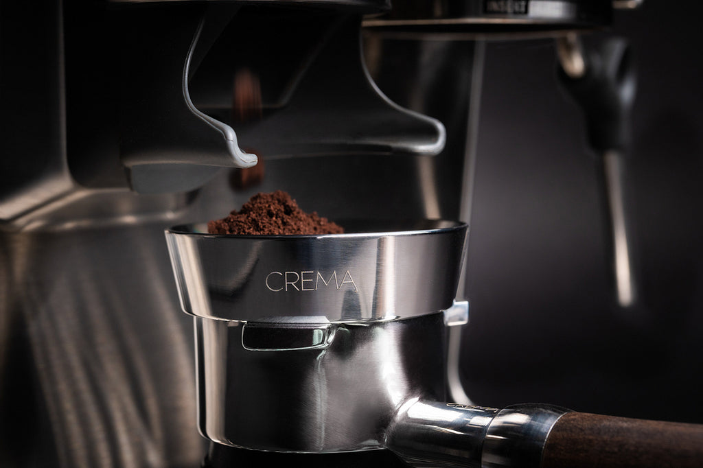 crema coffee products dosing funnel