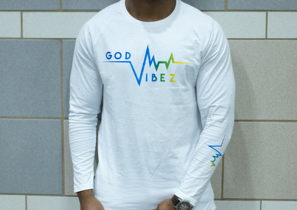 GOD VIBES Long Sleeve Extended Tee