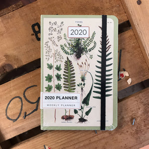 Weekly Planner, Ferns