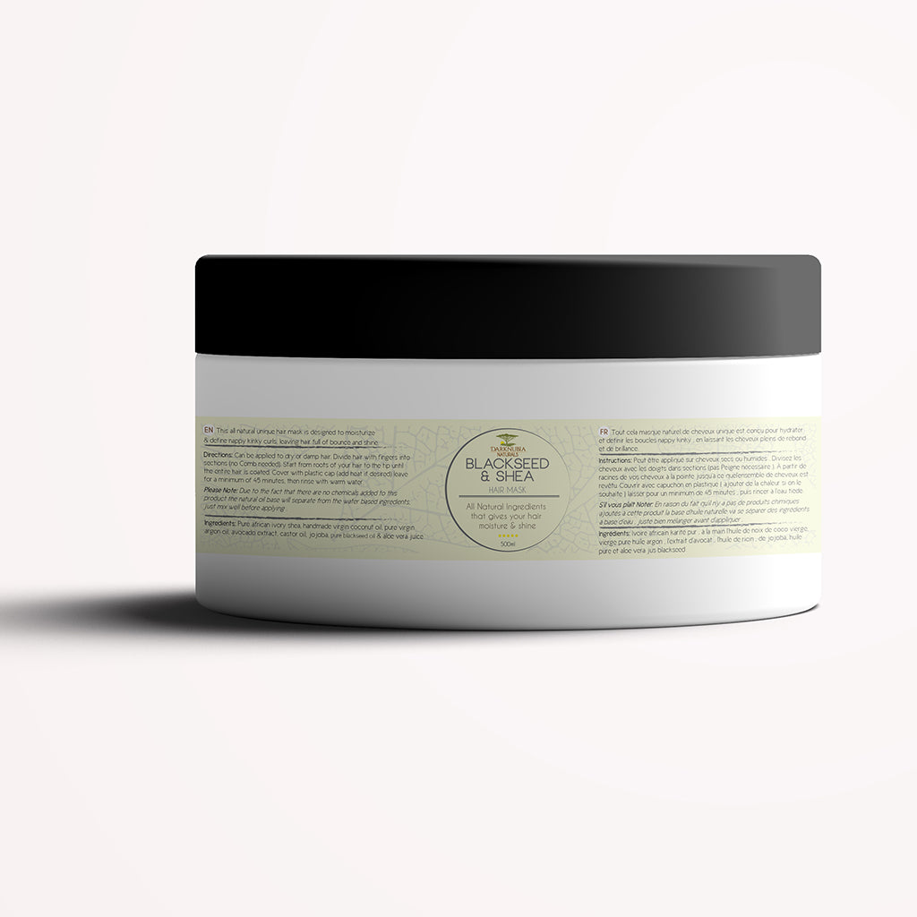 BLACKSEED & SHEA HAIR MASK