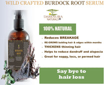 Load image into Gallery viewer, BURDOCK ROOT HAIR SERUM 120 ML