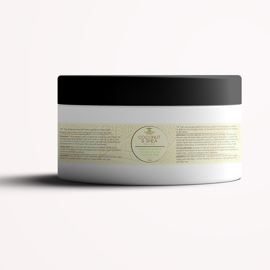 COCONUT & SHEA HAIR MASK
