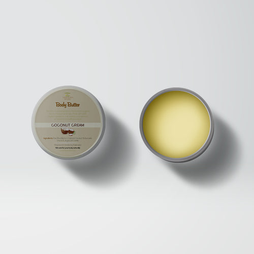 (COCONUT CREAM) GOLD BODY BUTTER