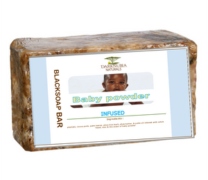 baby infused blacksoap bar 180g