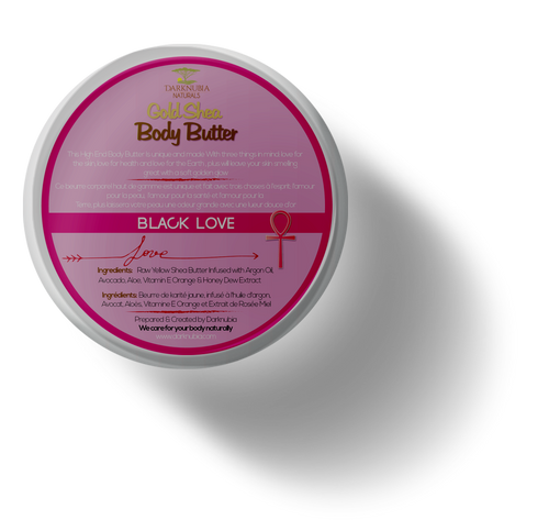 (BLACK LOVE) GOLD BODY BUTTERS