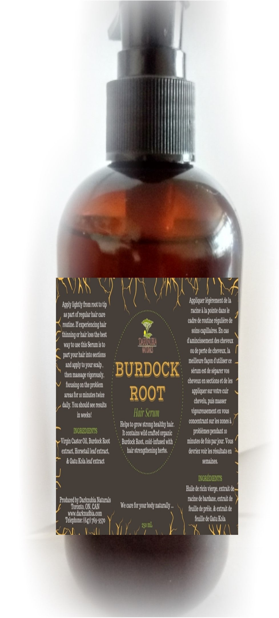 BURDOCK ROOT HAIR SERUM 120 ML