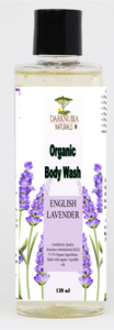 english lavender organic bodywash 120ml