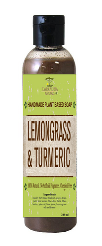 LEMONGRASS & TURMERIC BODY WASH