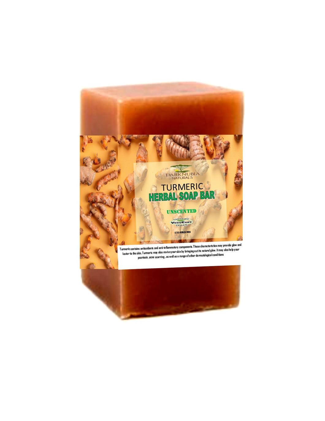 turmeric herbal soap