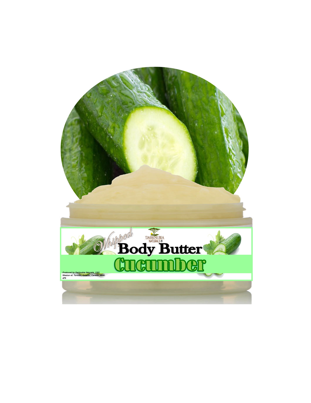 cucumber whipped body butter 250 ml