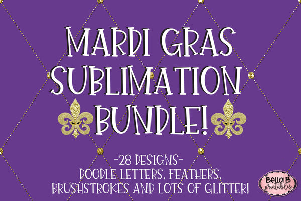 Mardi Gras Sublimation Bundle