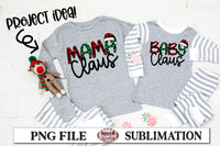 Sister Claus Sublimation Design