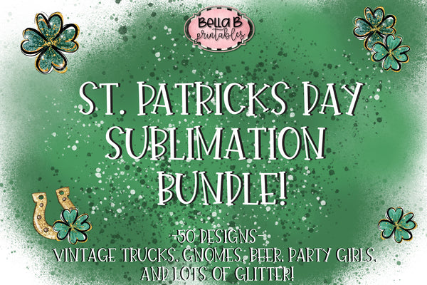 St Patricks Day Sublimation Bundle