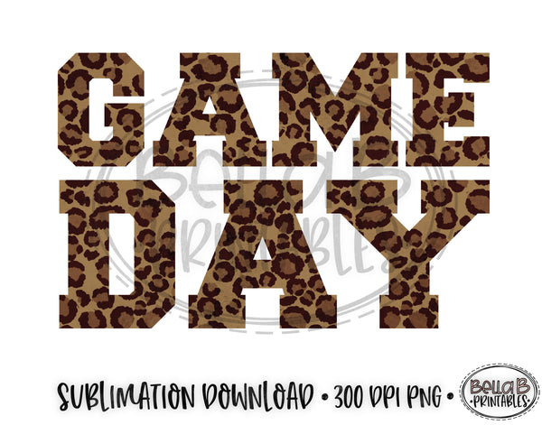 Football Sublimation Design, Game Day