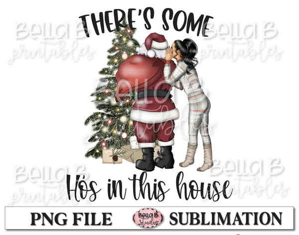 There's Some Ho's In This House Sublimation Design