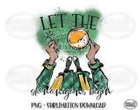 St Patricks Day Sublimation Design, Let The Shenanigans Begin Sublimation