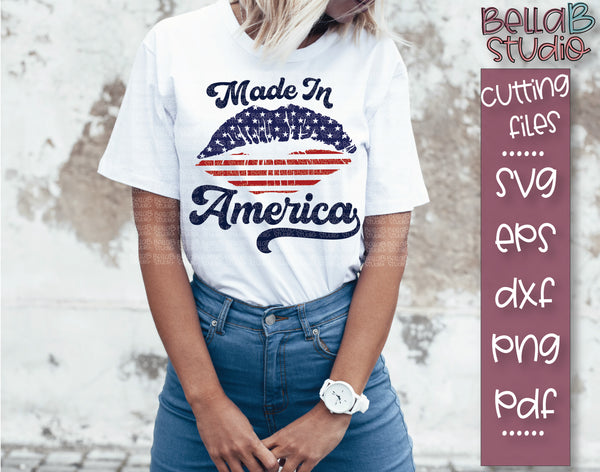 Made In America SVG file