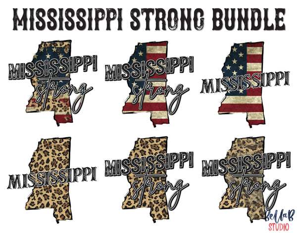 Free Mississippi Strong Bundle