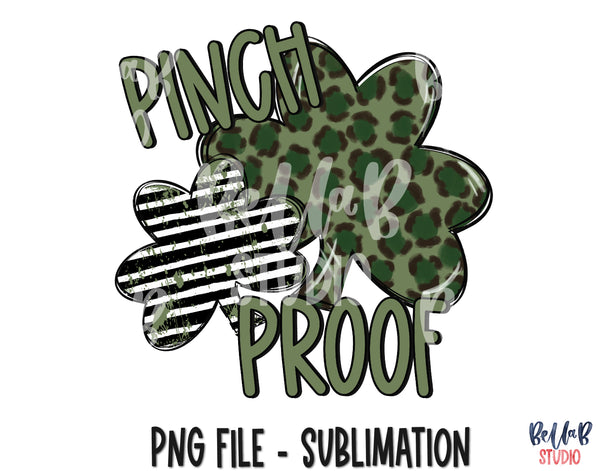 Pinch Proof Sublimation Design