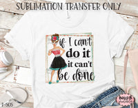 Retro Girl Sublimation Transfer, Ready To Press, Heat Press Transfer, Sublimation Print