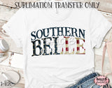 Southern Belle Sublimation Transfer - Ready To Press