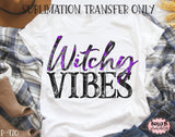 Witchy Vibes Sublimation Transfer, Ready To Press