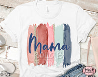 Mama Brushstrokes Sublimation Transfer - Ready To Press