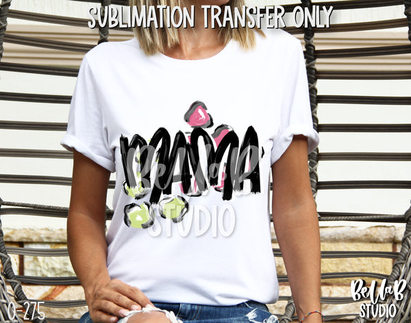 Fun Mama Sublimation Transfer - Ready To Press