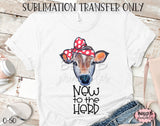 New To The Herd Sublimation Transfer, Ready To Press, Heat Press Transfer, Sublimation Print