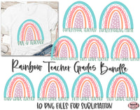 Rainbow - School Teacher Sublimation Bundle