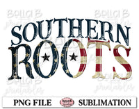 Southern Roots Sublimation Design