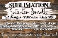 The Sublimation Starter Bundle