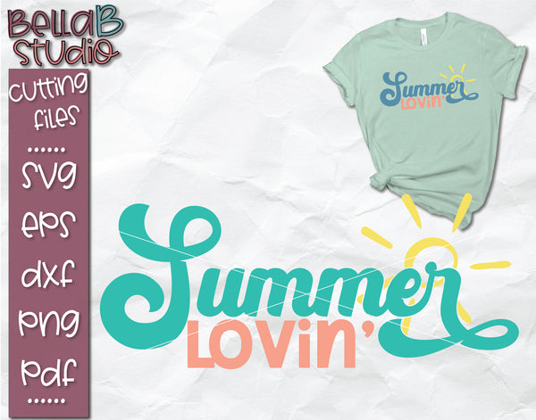 Summer Lovin' SVG File