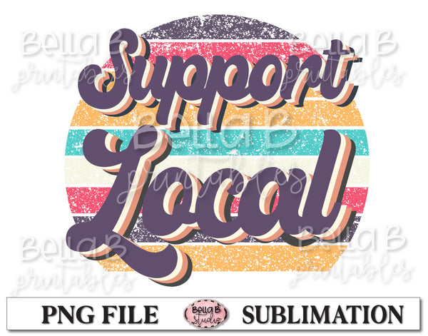Support Local Sublimation Design