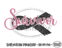 Survivor Sublimation Design, Breast Cancer Design