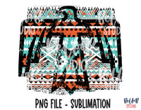 Tribal Thunderbird Sublimation Design