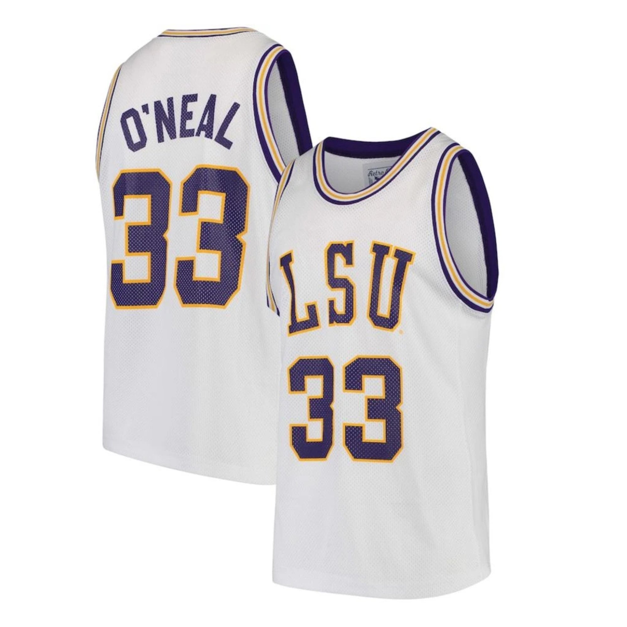 NCAAB Shaquille O'Neal LSU Tigers 33 Jersey – JerseyHouse