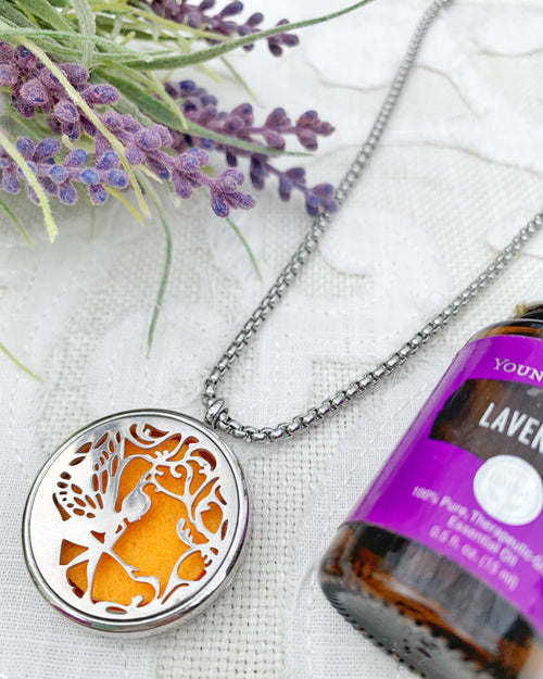 Marigold Fairy Aromatherapy Necklace