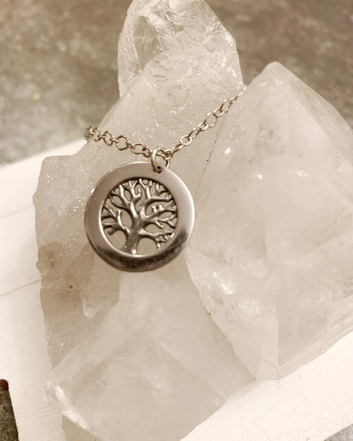 Sterling Silver Tree of Life Necklace #2