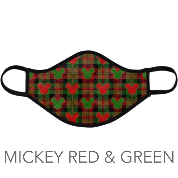 Face Masks - 2 Pack (NEW XMAS!)
