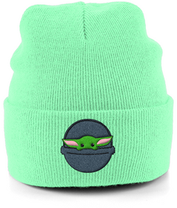 Baby Yoda - Embroidered Beanie