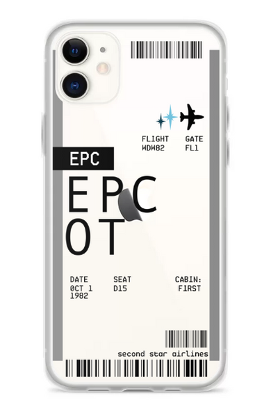 Boarding Pass (Parks) - Phone Case